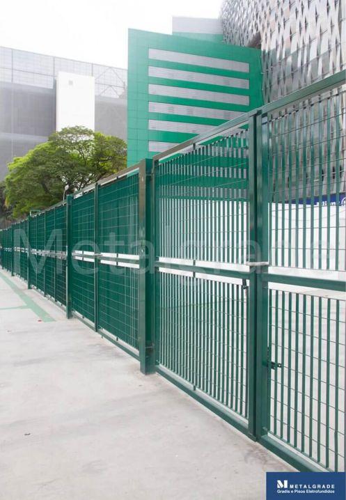 Gradis Para Isolamento De Estádios